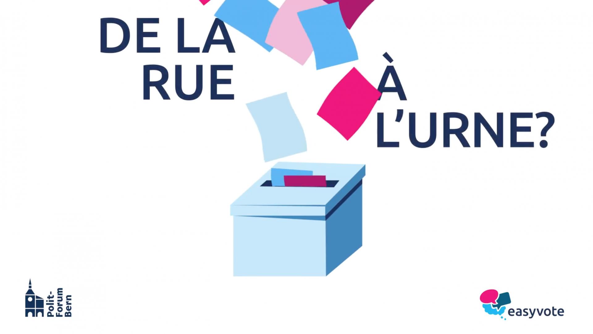 Conférence easyvote 2020: Venez !